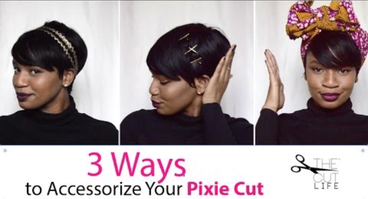 3 Easy Ways to Accessorize Your Pixie Cut: How to tutorial