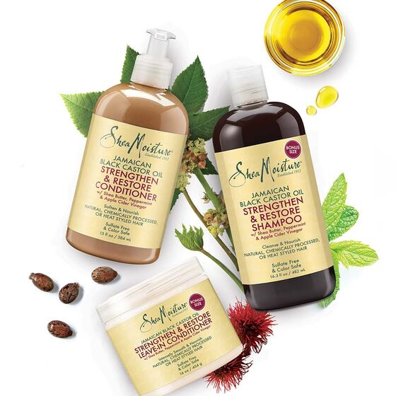 Shea Moisture Jamaican Black Castor Oil Strengthen/Grow and Restore Leave-In Conditioner