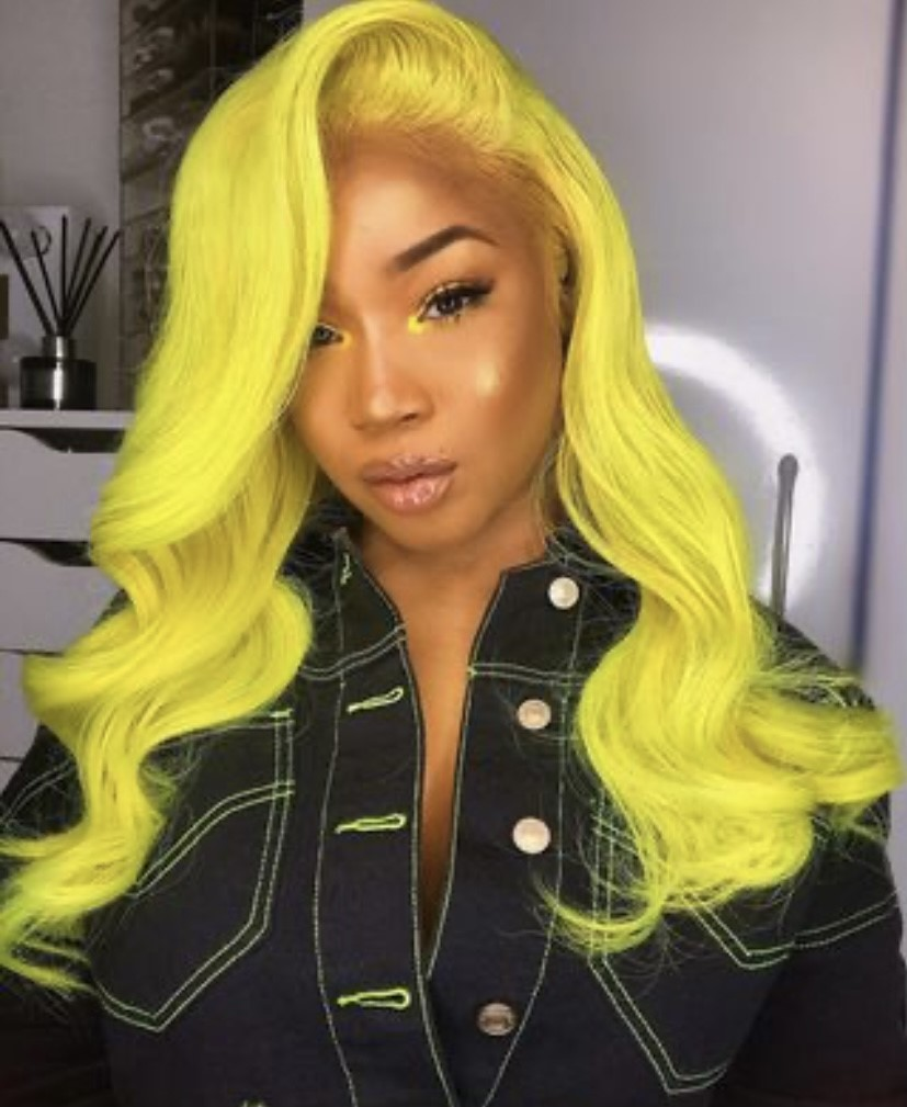 Hairstyle of the week-Coloured Wig